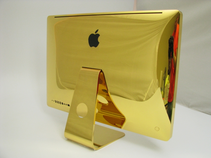 apple in oro