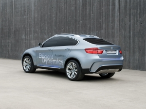 BMW ActiveHybrid X6, librido pi potente al mondo.