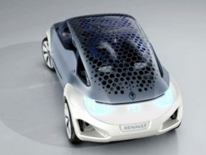 Renault ZOE Z.E, auto elettrica dal futuro forse diverr presente nel 2012.