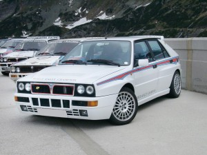 Lancia Delta Integrale HF: migliore sportiva due volumi di tutti i tempi.