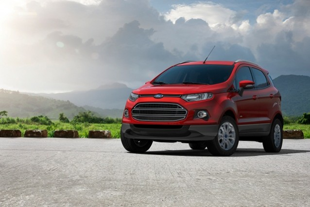 Ford EcoSport, il nuovo SUV compatto al Salone di Pechino 2012.