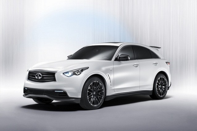 Infiniti FX50S Sebastian Vettel Version, edizione limitata del SUV premium nipponico.