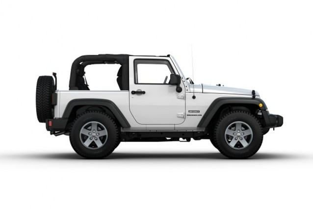 Jeep Wrangler Cabrio, edizione limitata per il solo mercato italiano.