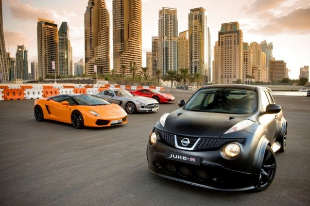 Nissan Juke-R, in vendita la crossover ad alte prestazioni.