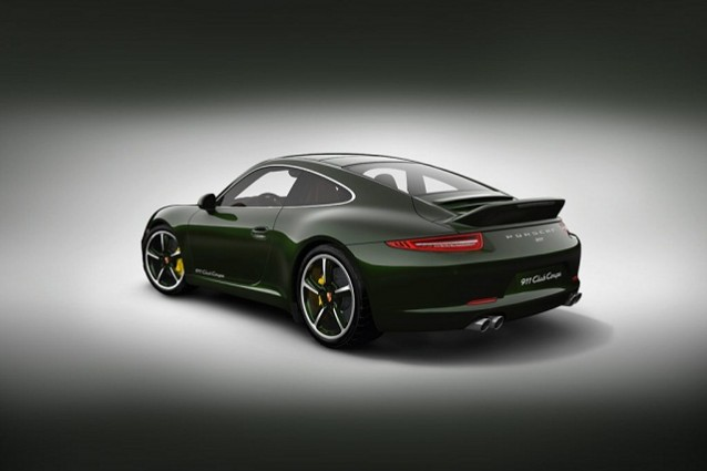 Porsche 911 Club Coup: la special edition festeggia i 60 di servizio.