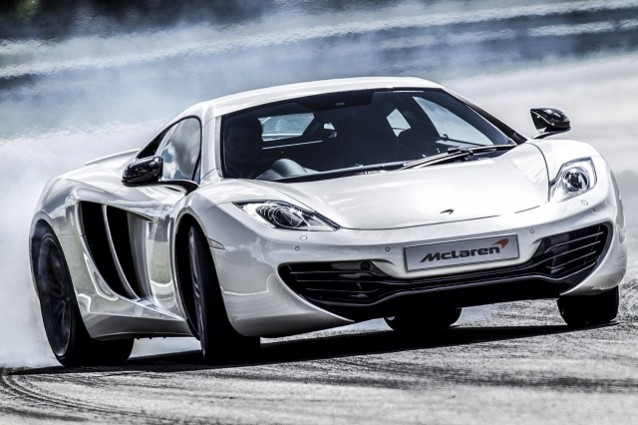Mclaren MP4-12C al Goodwood Festival of Speed 2012.