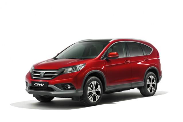 Honda CR-V MY 2013, il SUV giapponese sul mercato da Settembre.