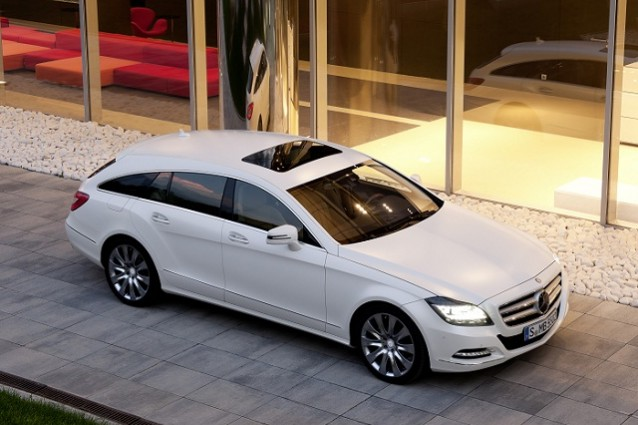Mercedes CLS Shooting Brake: foto ufficiali e caratteristiche.