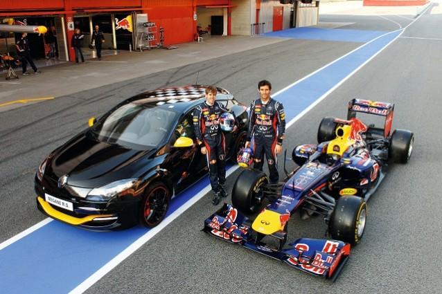 Renault Mégane RS: arriva la nuova Limited Edition Red Bull Racing RB7.