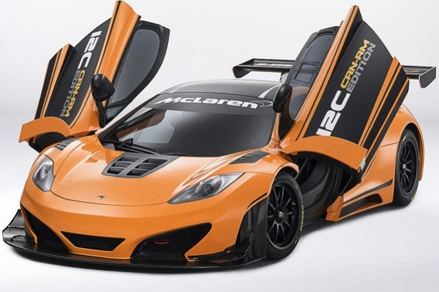 McLaren MP4 12C CAN-AM Edition Racing Concept.