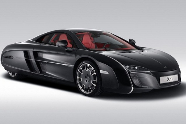 McLaren X1, una one-off dal design senza tempo.