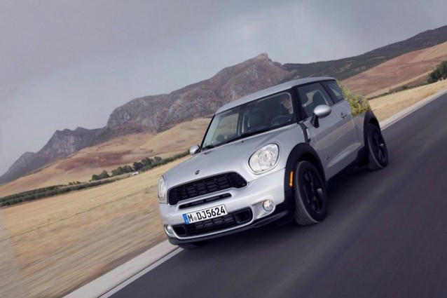 MINI Paceman: foto e caratteristiche della Sports Activity Coup.