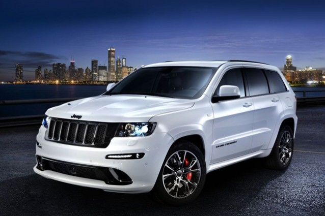 Jeep Grand Cherokee SRT Limited Edition.
