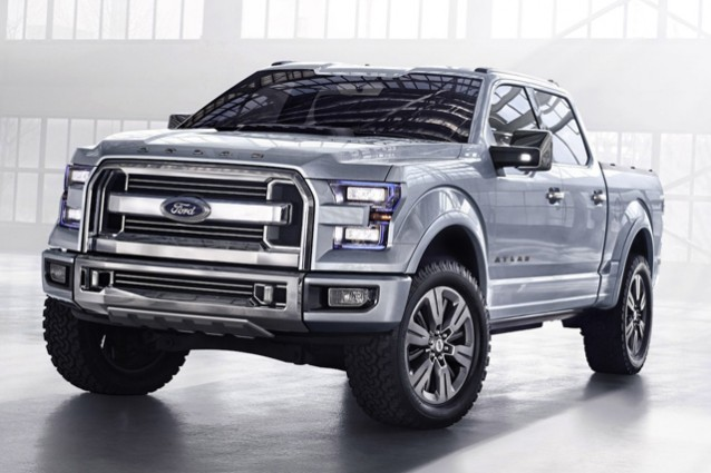 ford atlas il concept che anticipa il nuovo pick up f150. Black Bedroom Furniture Sets. Home Design Ideas