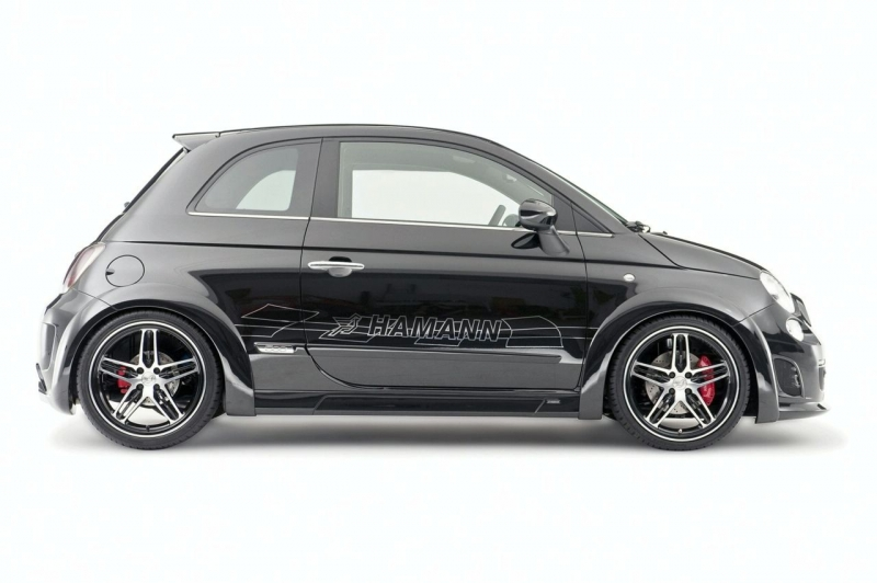 fiat 500 abarth largo by hamann motori fanpage. Black Bedroom Furniture Sets. Home Design Ideas