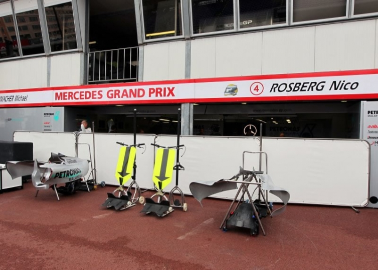 Gran premio di monaco 2010 motori fanpage for Garage mercedes monaco