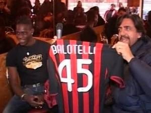 Balotelli en el Milan