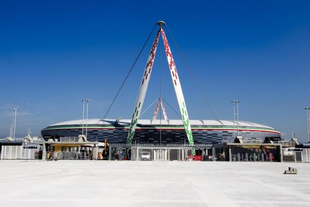 Inaugurazione Del Nuovo Stadio Juventus E Notts County