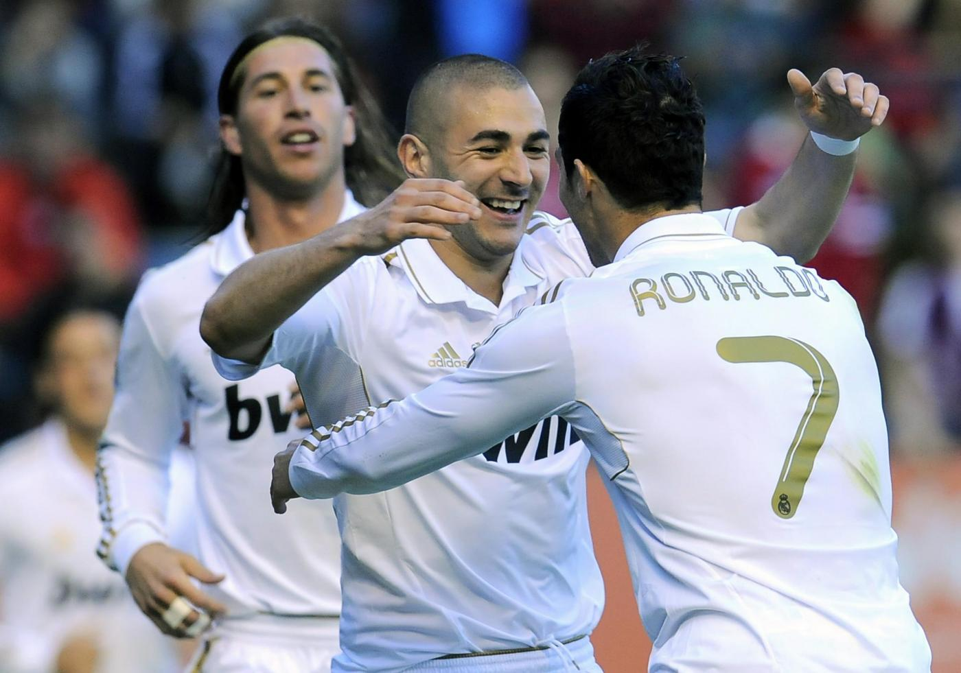 Osasuna-Real Madrid 1-... Benzema And Ronaldo 2012