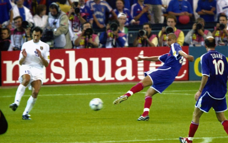 Il golden-gol di Trezeguet