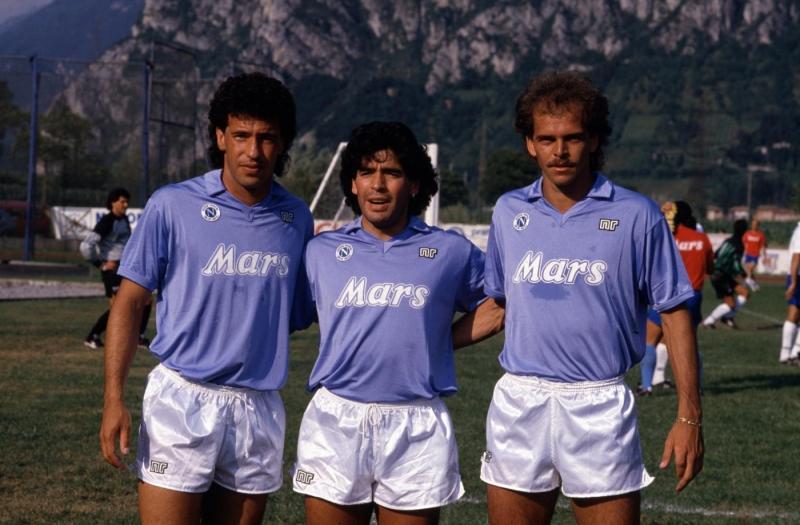 Maradona, Careca e Alemao