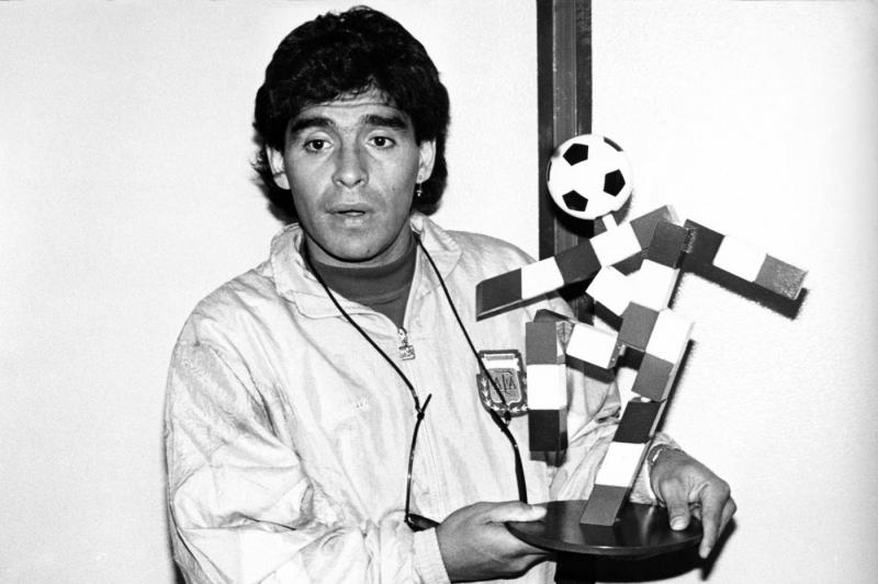 Maradona a Italia-90