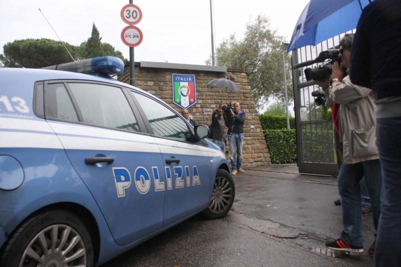 Calcioscommesse i controlli della polizia nel ritiro dell - Foto della polizia citazioni ...