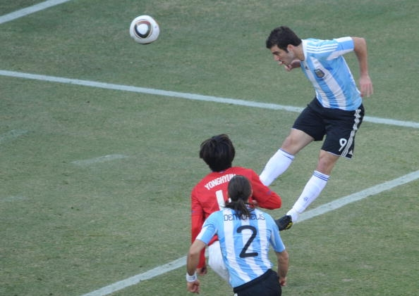 In gol con la Nazionale