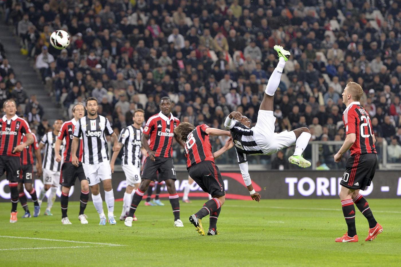 Juventus milan 1 0 decide un rigore di vidal foto for Immagini juventus