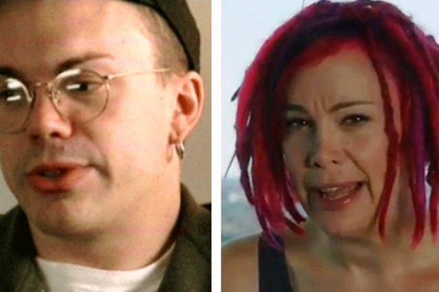 Larry Wachowski adesso  Lana.