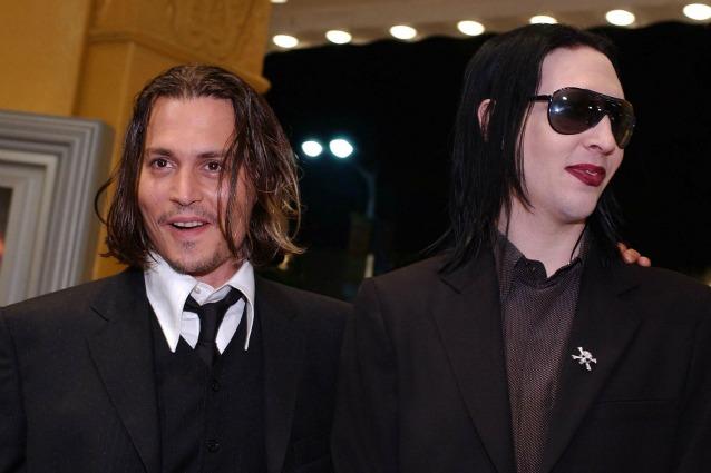 Johnny Depp E Marilyn Manson Pazzi Per La Marijuana