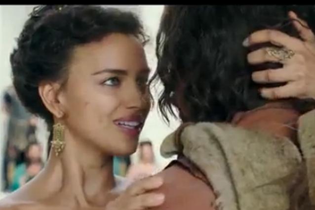 Irina Shayk al cinema con Hercules dal 13 agosto