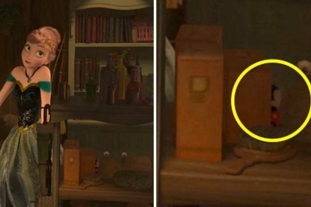 I segreti nascosti nelle scene dei cartoni animati di walt