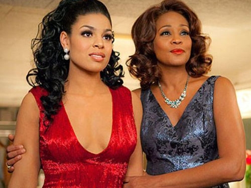 Whitney e Jordin in una foto del film