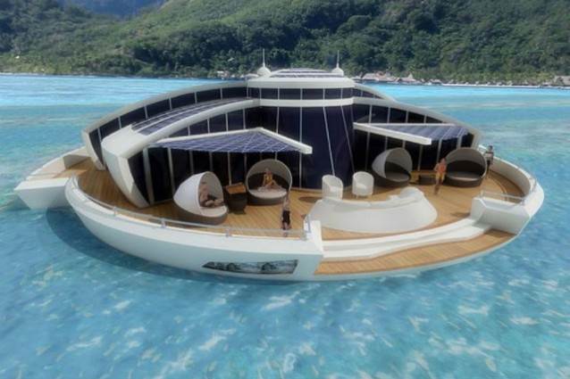 Solar Floating Resort.