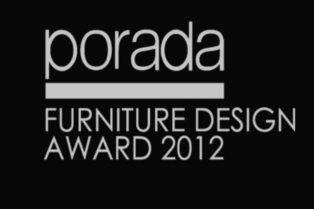 Porada Furniture Design Award 2012.