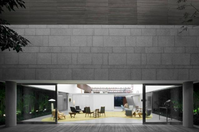Camera Da Letto Bianca E Verde : Una casa-museo: la Casa Cubo di Isay ...