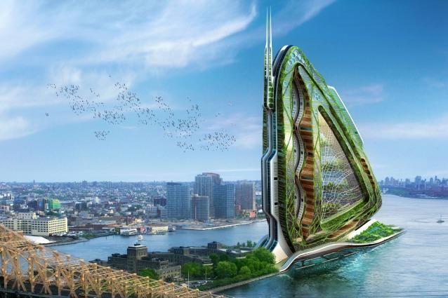Dragonfly le fattorie urbane ad alta quota saranno il for Piani di fattoria ad alta efficienza energetica