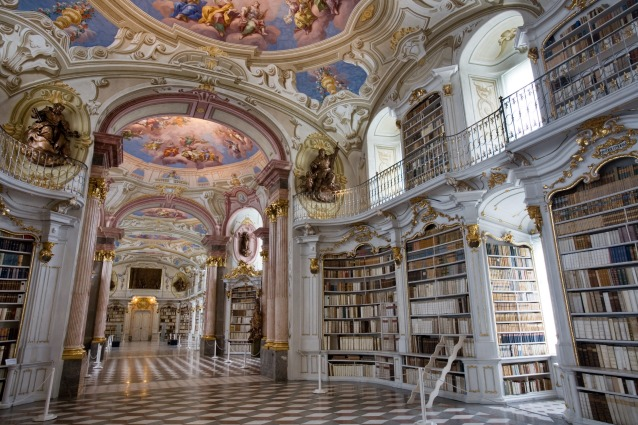 Admont Austria  city photo : in foto: Admont Abbey Library, Austria