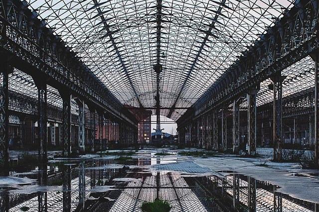 Gli edifici dismessi dell italia incompiuta viaggio for Luoghi abbandonati nord italia
