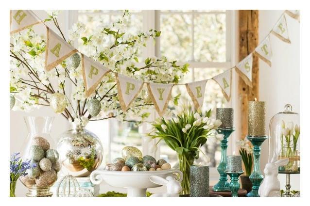 decorazioni pasquali proposte idee casa : Pasqua da decorare: idee per abbellire la vostra casa in vista delle ...
