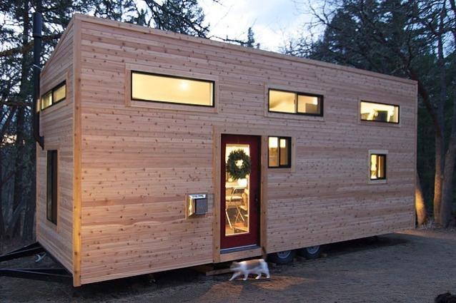 Piccolo bello la casa su due ruote di andrew e gabriella for Il costo di costruire la propria casa