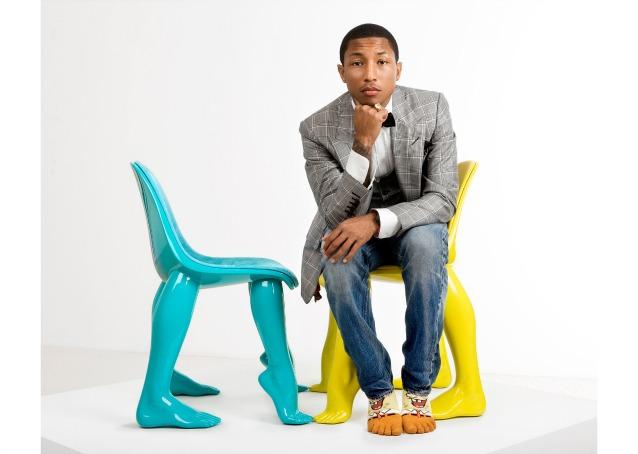 Il design delle star mobili e oggetti disegnati dalle celebrities del mondo - Pharrell williams design ...