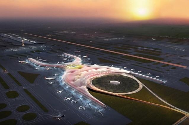 Città del Messico, ecco come sarà il futuro aeroporto di Norman Foster.