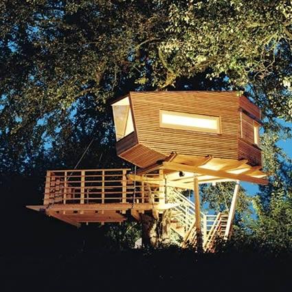 Le case sospese sugli alberi design fanpage for Le case design
