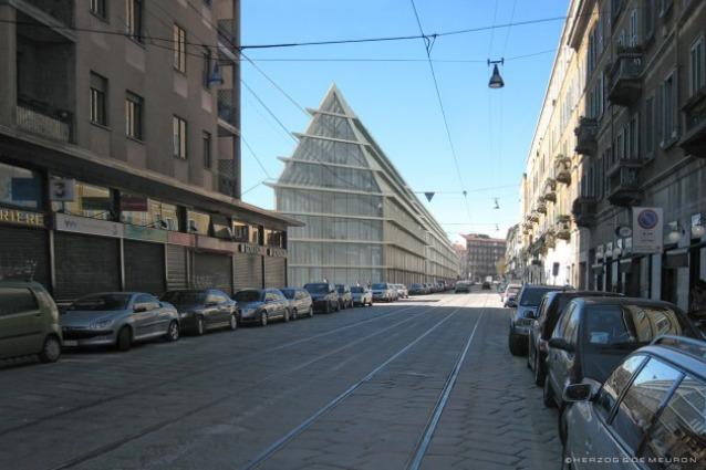 Milano prima pietra per la nuova sede della fondazione for Sito della feltrinelli