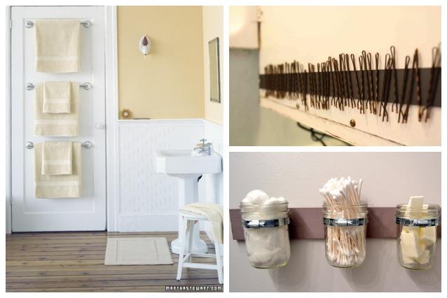 10 idee salvaspazio per il bagno anche il pi piccolo - Idee per rivestire un bagno ...
