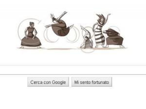 doodle dedicato a martha graham