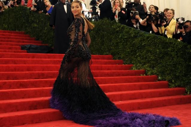 Beyonce al Met Ball 2012