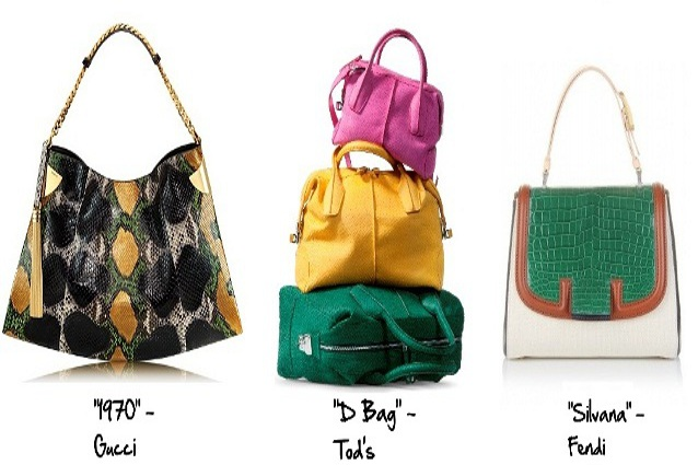 Le It-bag della primavera/estate 2012.